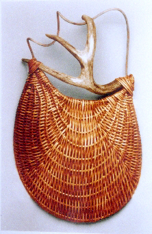 Entwined Antler Wall Basket