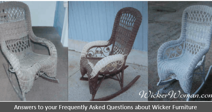 Antique wicker furniture 101 history repair tips for Furniture 101