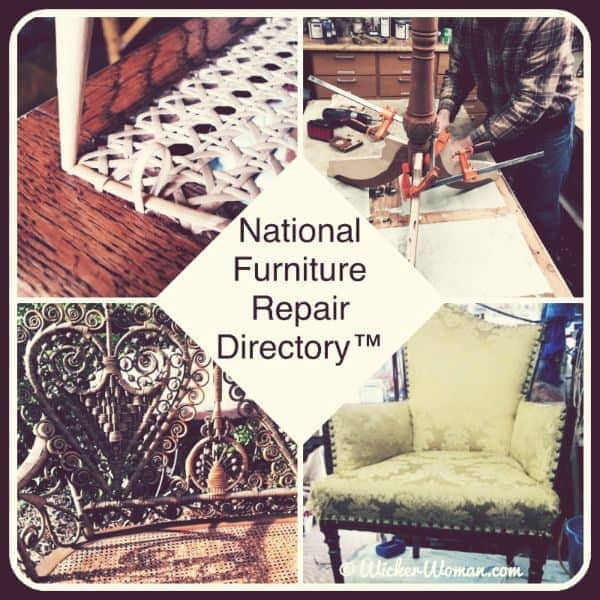 National Furniture Repair Directory™--Caning, Upholstery, Refinishing & Wicker Categories