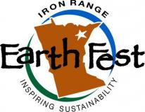 iron range earth fest  logo