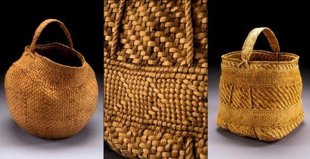 Willow Bark Baskets by Jennifer Heller Zurick