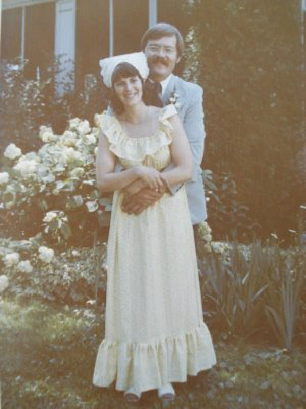 John-Cathryn Peters wedding 6-23-73