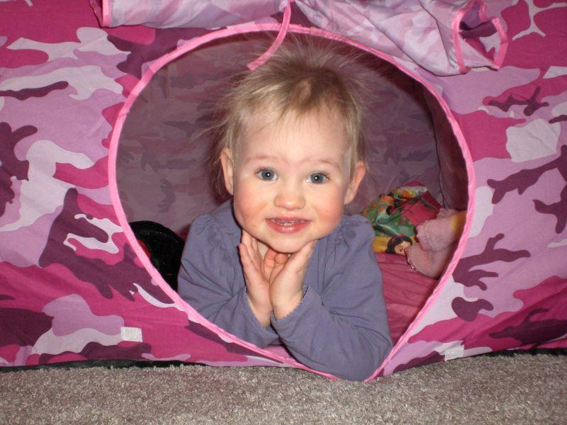 Lily- Grandma's Static Camper