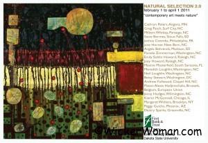 Natural Selection 2.0 Exhibition, 2011 Dakota State University