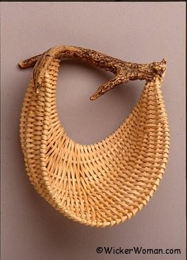 Nesting Quietly Antler Wall Basket