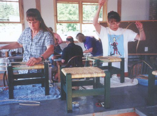 Folk Schools Around the Country -- Basketry and Seatweaving Classes
