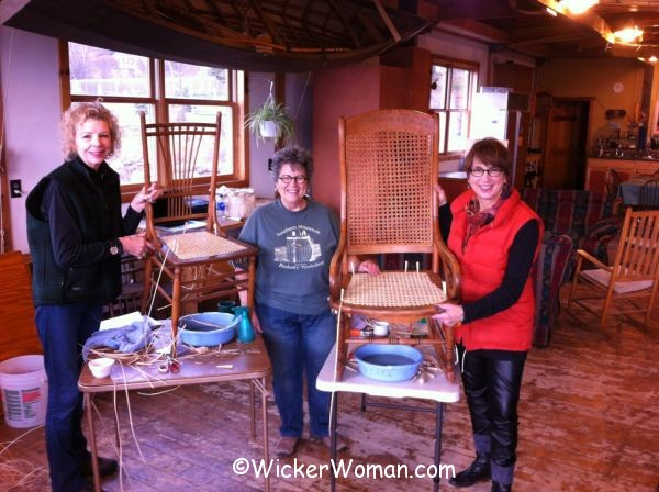 chair caning class grand marais, mn