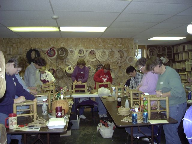 Monday Mention–Rush Stool Class from the Past!