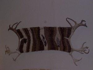 Reindeer Ripples Antler Wall Basket -Peters