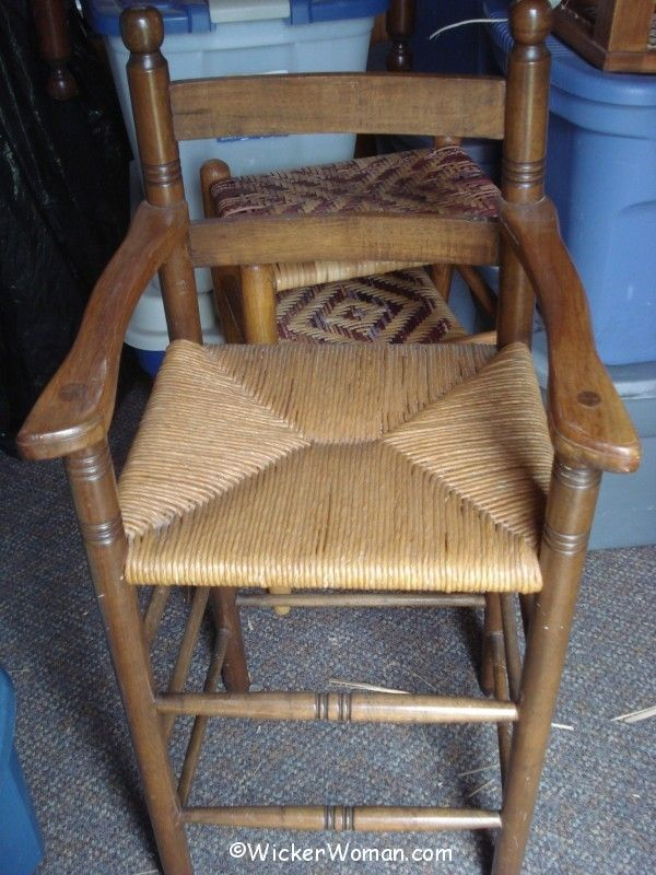 paper rush youth high chair 1976