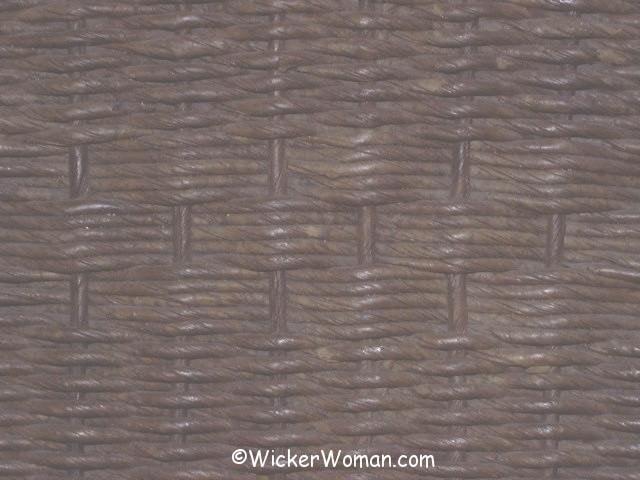 paper wicker design back