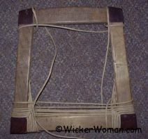 Paper Rush Seat Weaving Tip-How to start