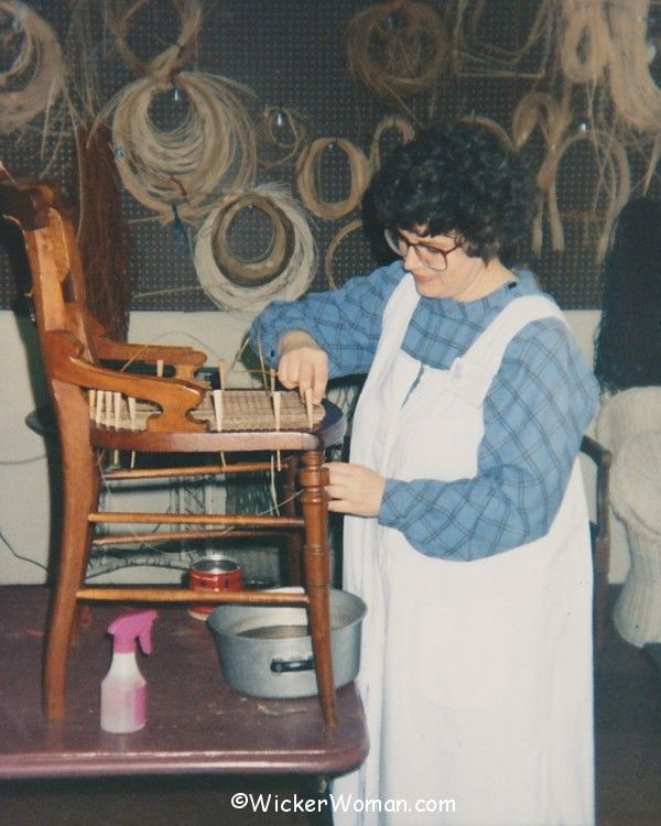 WickerWoman wicker shop 1992