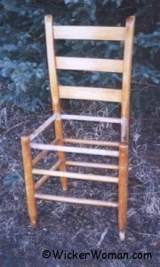 post and rail chair frame