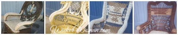 reed wicker repair collage