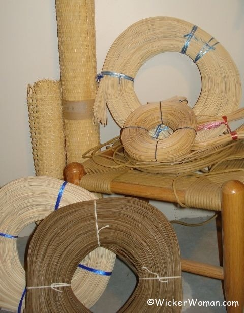 Searching for Chair Caning Supplies or Basket Weaving Materials?