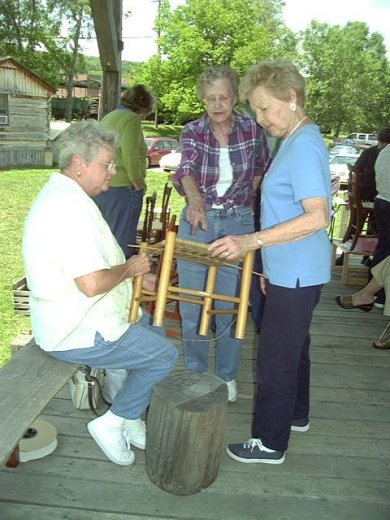 FRIDAY FRIENDS–Chair Caning
