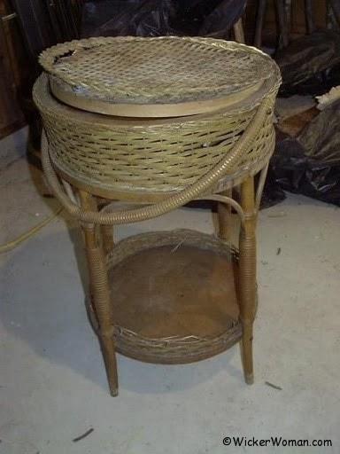 Heywood-Wakefield Sewing Cabinet