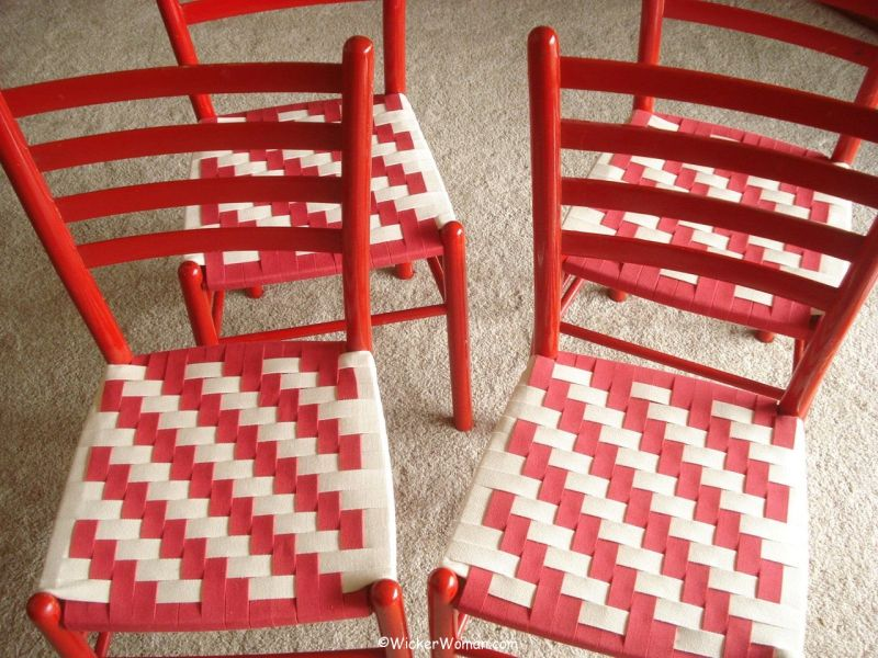 How To Identify Woven Chair Seat Patterns