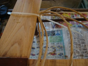 use cable ties for rush side rails