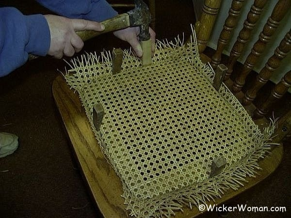 How-to Install Cane Webbing Instructions