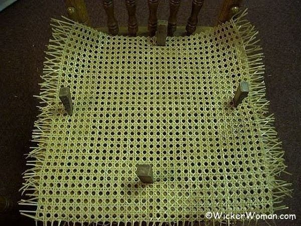 center cane webbing