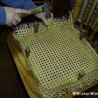 installing spline cane or cane webbing