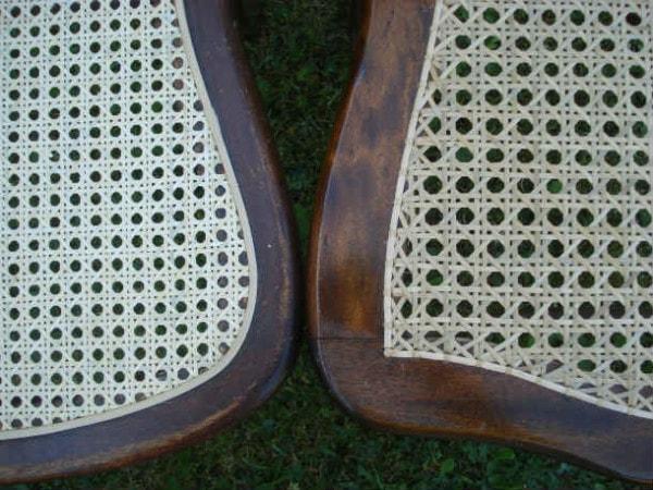 cane webbing and strand cane seats