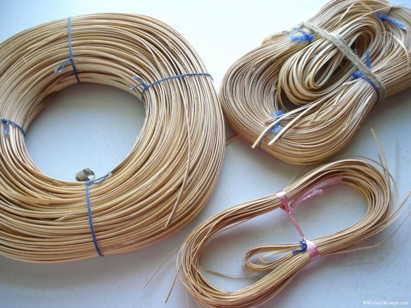 chair caning strand cane coils
