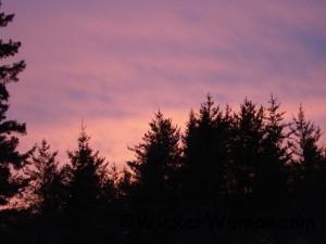sunset 4-25-13