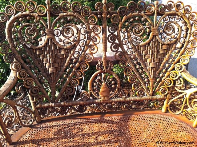 Antique Victorian Wicker Heart Set–Wednesday Wicker Wisdom
