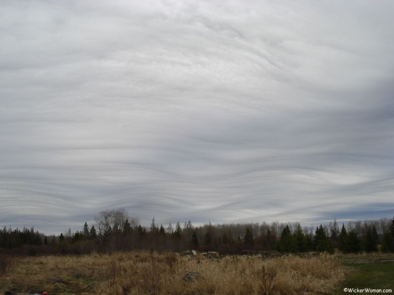 Unusual Cloud Formation Up North