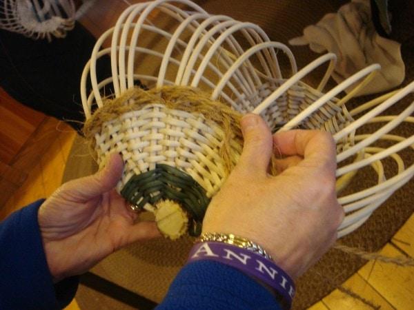 antler basket weaving Peters class