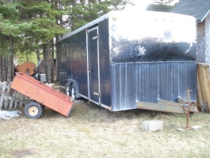 wells cargo nose cone enclosed trailer