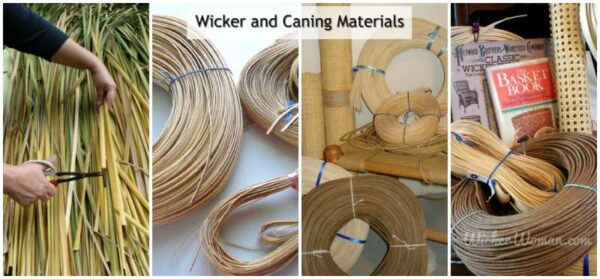 Articles on Wicker and Chair Caning Materials