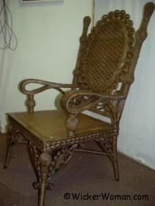 Wakefield Rattan Company chair restored