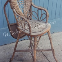 Victorian Wicker Highchair Restoration