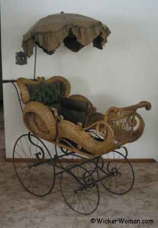 Wednesday Wicker Wisdom-Rubber Buggy Wheels