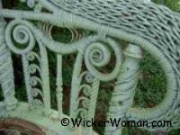 Fancy wicker curlicues