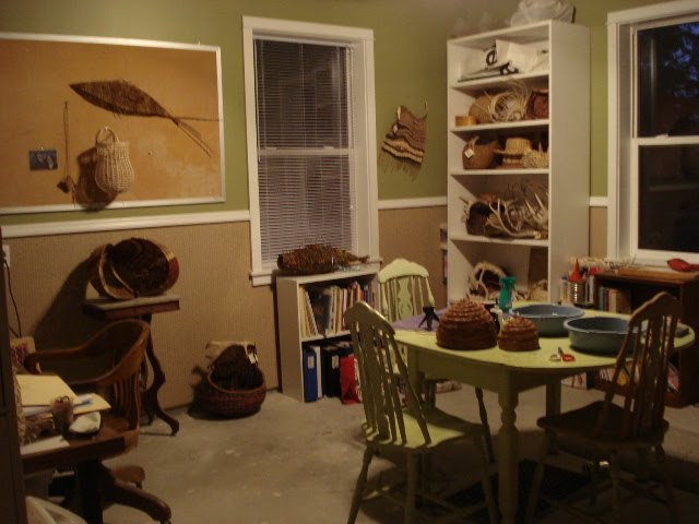Falling Down the Blogging Hole-- Viewing Artist's Studios