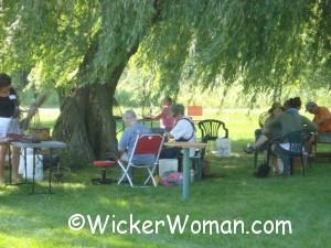 willow basketweaving class